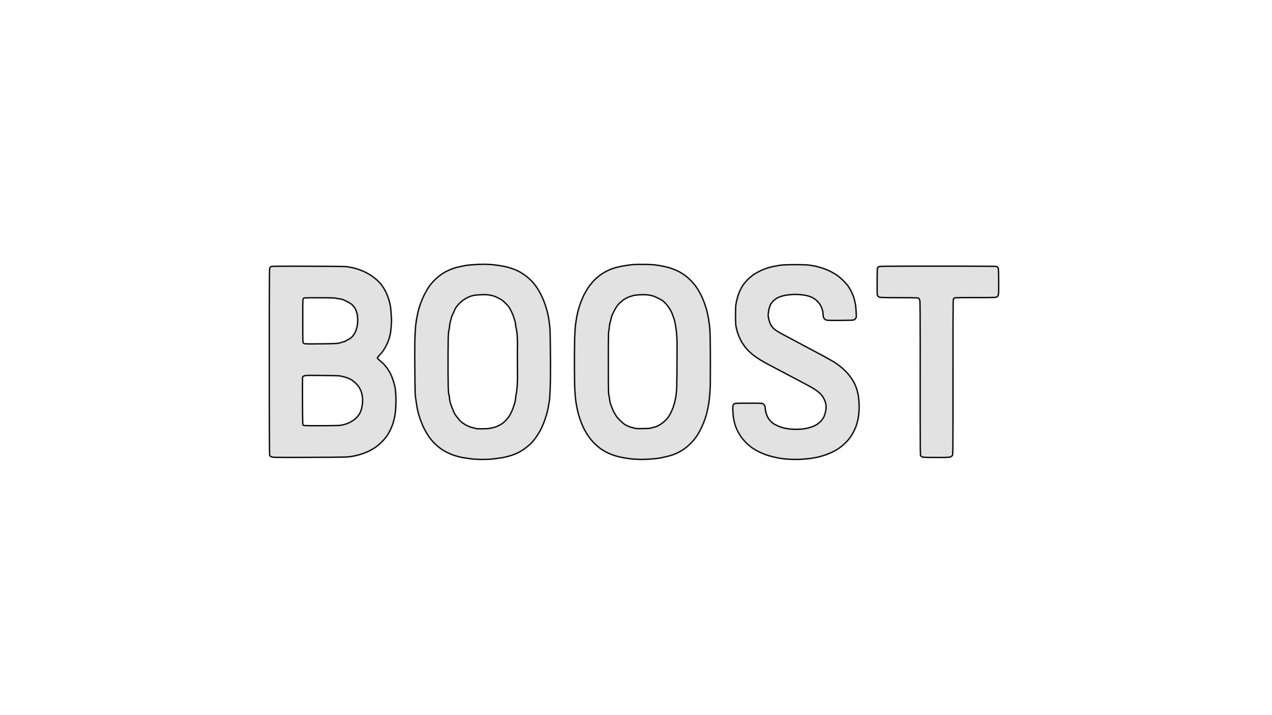 ADIDAS-BOOST-font-outline