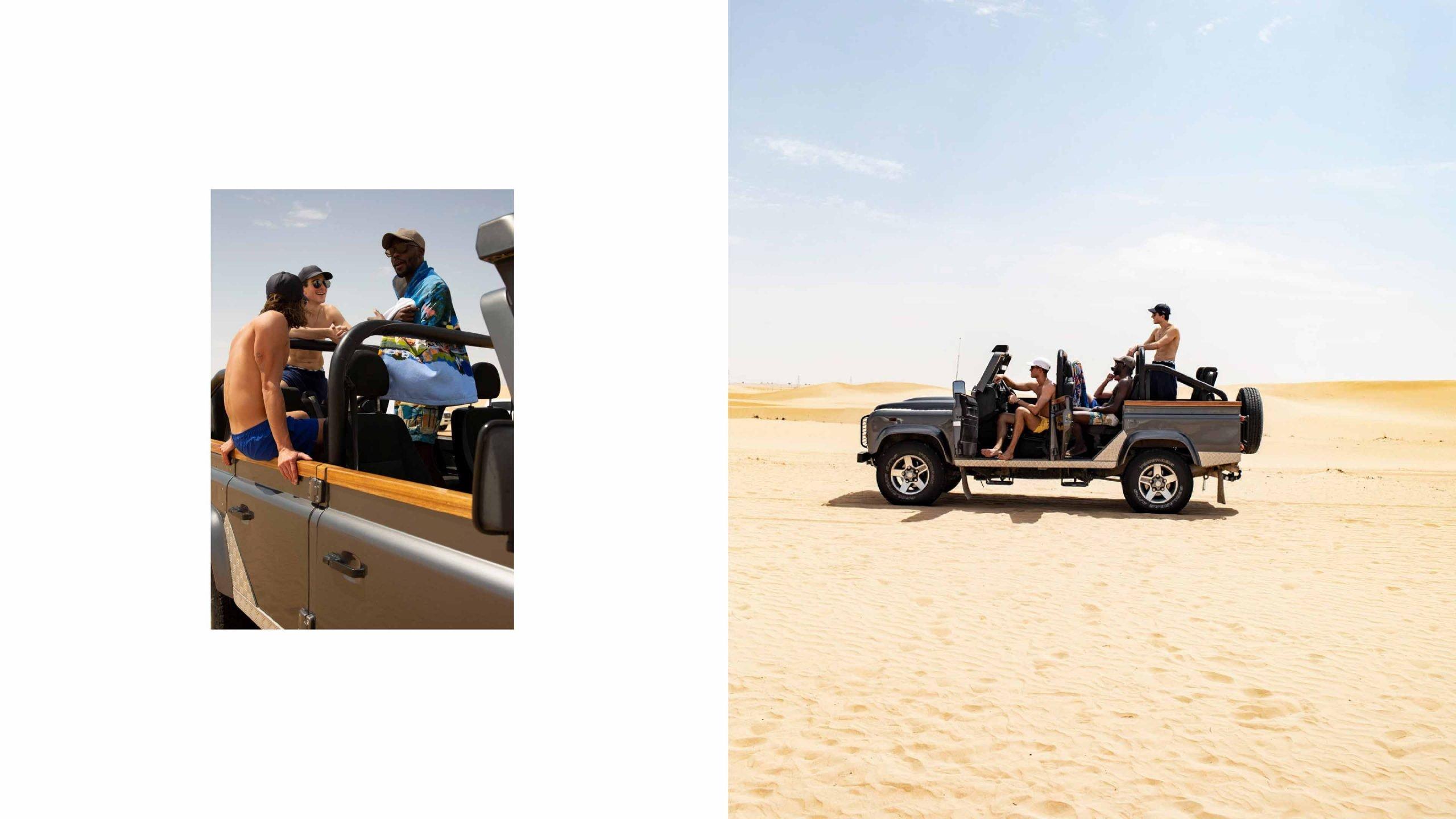ZEGNA Slideshow SS19 Dubai Shooting