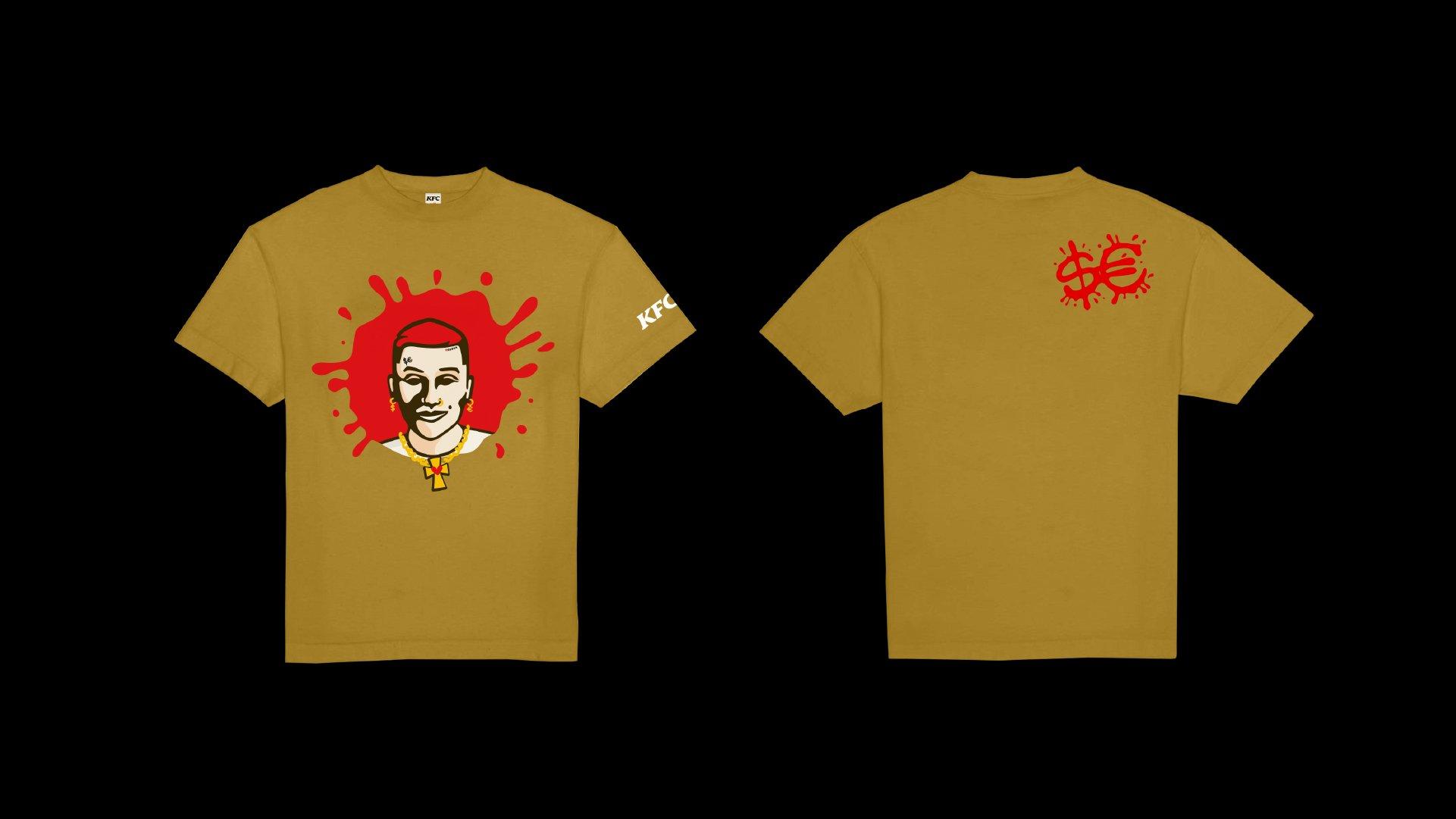 SFERA KFC MERCH 2020 tshirts 01